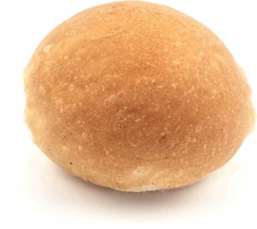 Bread -Round Roll - No Seeds 80g